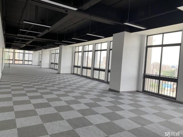丹竹头地铁站附近558平办公室招租,户型方正,阳光好