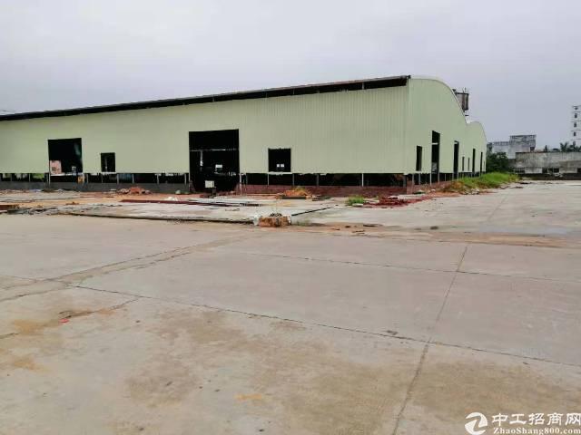 大岭山超大空地20000平方单一层厂房出租