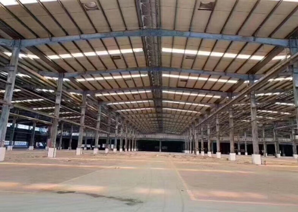 独院钢构厂房出租40000平可分租有红本