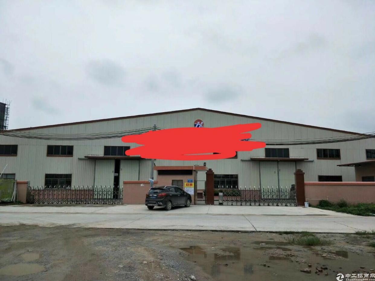 高速出口独门独院钢构5600平方出租可办环评有消防合格证