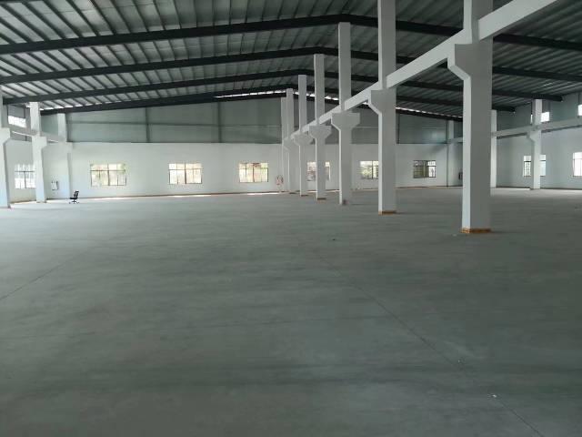 仲恺全新独院单一层厂房可办环评滴水9米带牛角位
