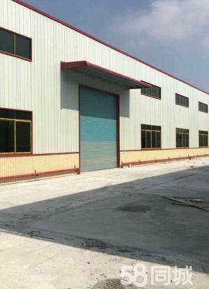 新出钢构厂房2560平,滴水11米,能进拖头,离高速路口进