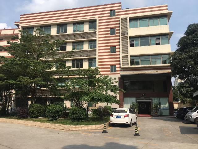 黄埔新出独栋办公楼3600平,可大小分租,靠近地铁口