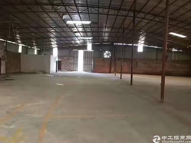 江高新出铁皮仓库1250平出租