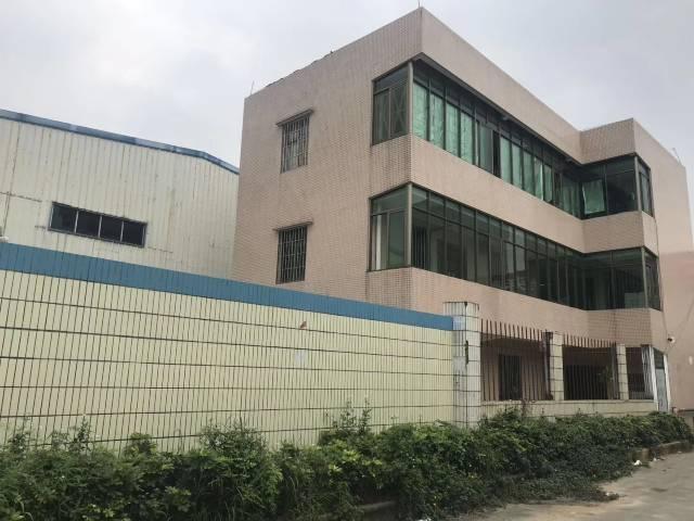 广州花都新华镜湖工业园区原房东单一层钢构厂房,仓库出租