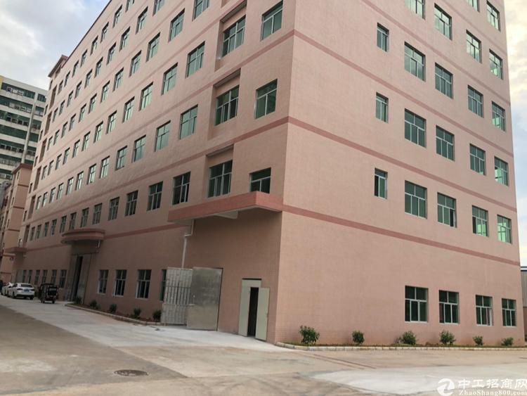 惠阳沙田原房东独院厂房1/7层22400平有红本,周边无居民