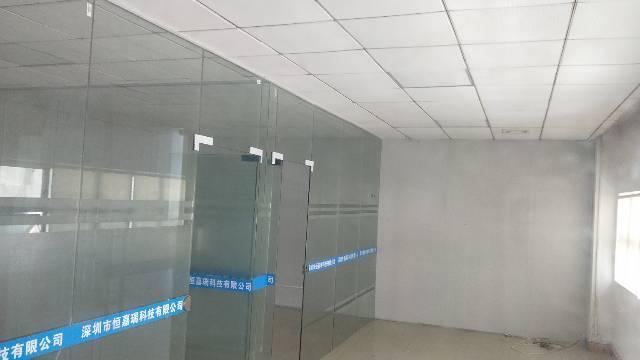 福永大洋田楼上装修厂房630平