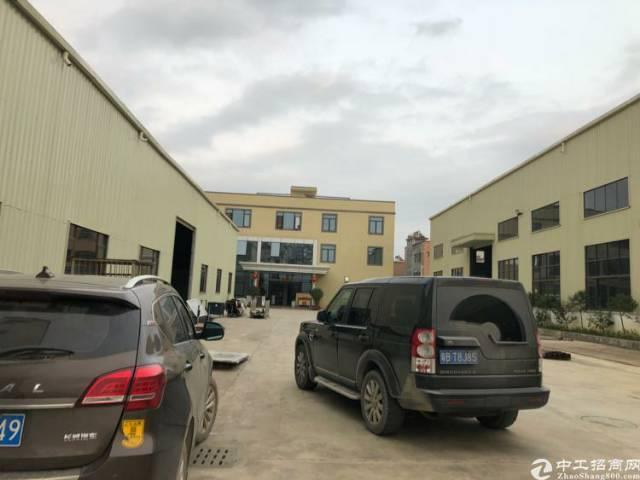 单一层钢构厂房招租,5800平,滴水9米,能进拖头,能办环评