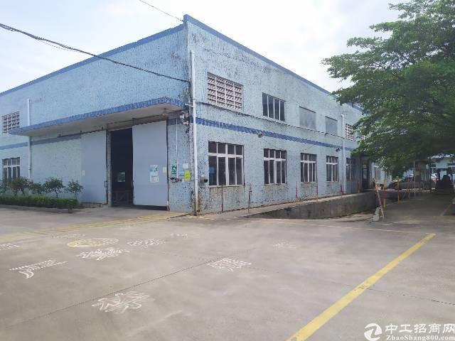 惠州惠阳秋长独门独院钢构厂房3000平滴水高度7米实际面积