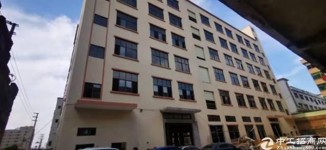 谢岗标准厂房总建筑面积16300平方,A栋6层12000平方