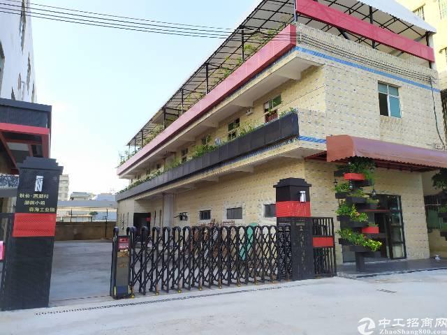 惠州惠阳秋长独门独院标准厂房二楼出租1600平