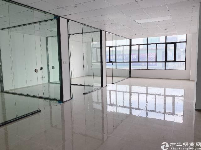 龙岗区平湖华南城地铁口300米带精装修写字楼图片2