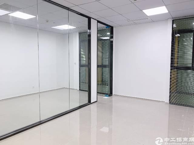 龙岗区平湖华南城地铁口300米带精装修写字楼图片1