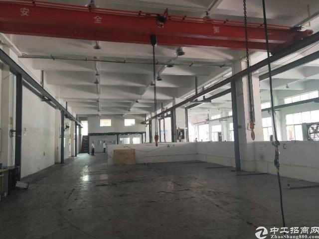 东莞市长安镇乌沙社区新出4层每层2280平方一楼有航车