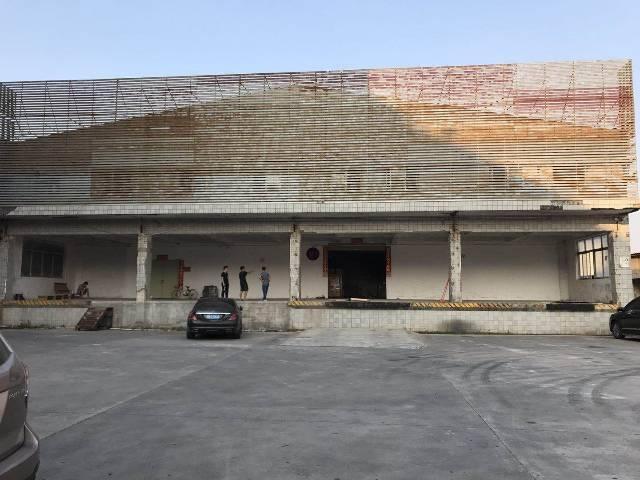 大岭山镇连平村独院3500平方钢构出租,可做冷库,仓库,物流