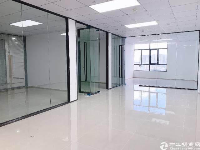 龙岗区平湖华南城地铁口300米带精装修写字楼图片8