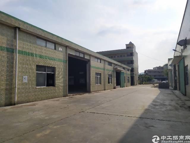惠州惠阳秋长原房东独门独院钢构厂房4500平出租报价15块