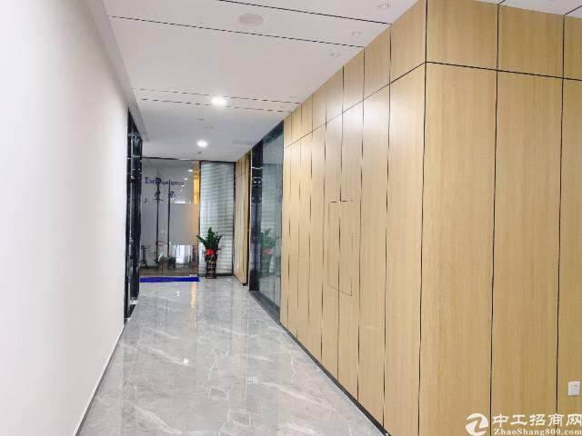龙岗区平湖华南城地铁口300米带精装修写字楼图片6