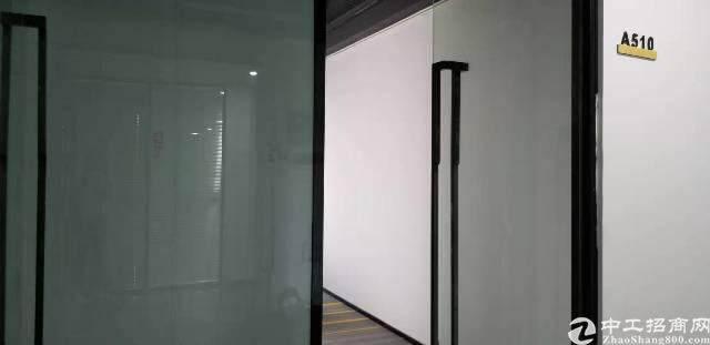 坂田地铁口零距离简装写字楼210平出租图片2