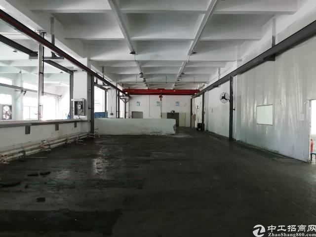 长安沙井交界处新出一楼高度6米带现成行车厂房2280平方