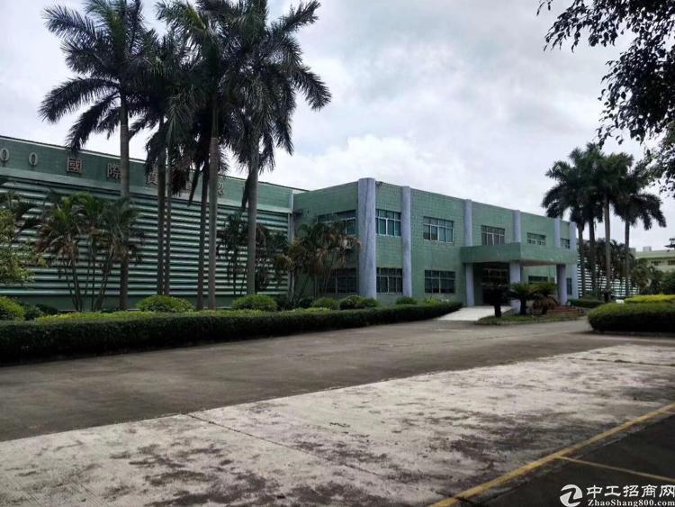 惠州花园式单一层独院仓库出租:厂房17000平,滴水10米