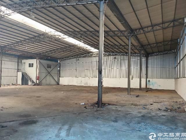 石排田寮低价厂房1300平方钢构厂房招租。