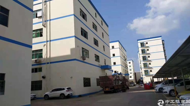 惠阳秋长新出工业园内标准楼房一楼厂房1300平方,带牛角位