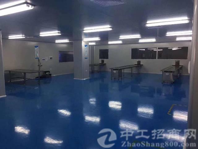 厚街镇桥头第二工业区原房东单一层标准厂房仓库5000平出租,