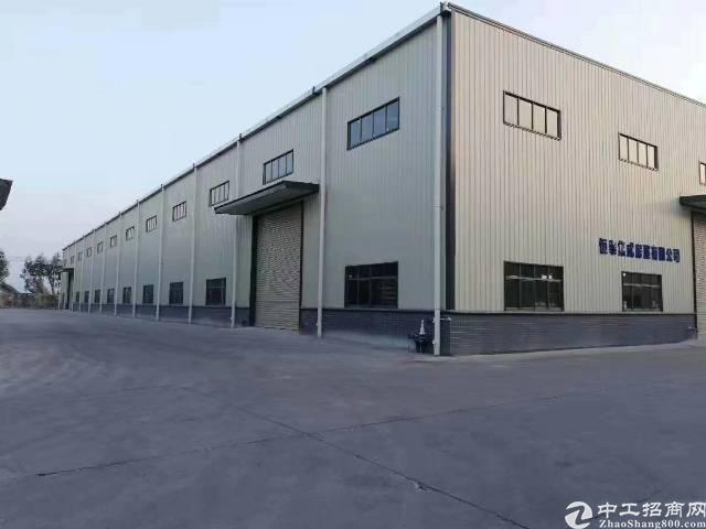 新出实际面积1000钢构九米以上滴水单一层厂房自带五吨行车