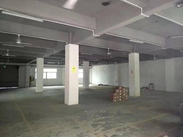 观澜大水坑厂房出租5.5米高一楼880平