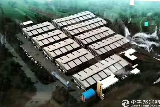 惠州博罗石湾镇重型钢结构独院厂房,四通八达,成熟工业园内