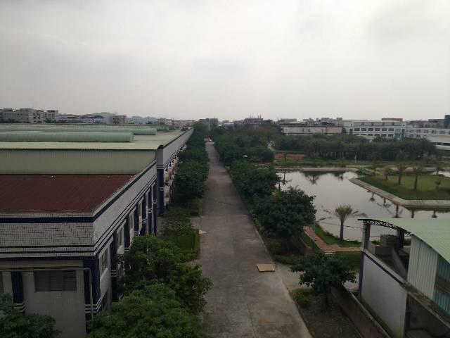 惠州市龙华镇电镀基地旁边有红本钢构厂房招租