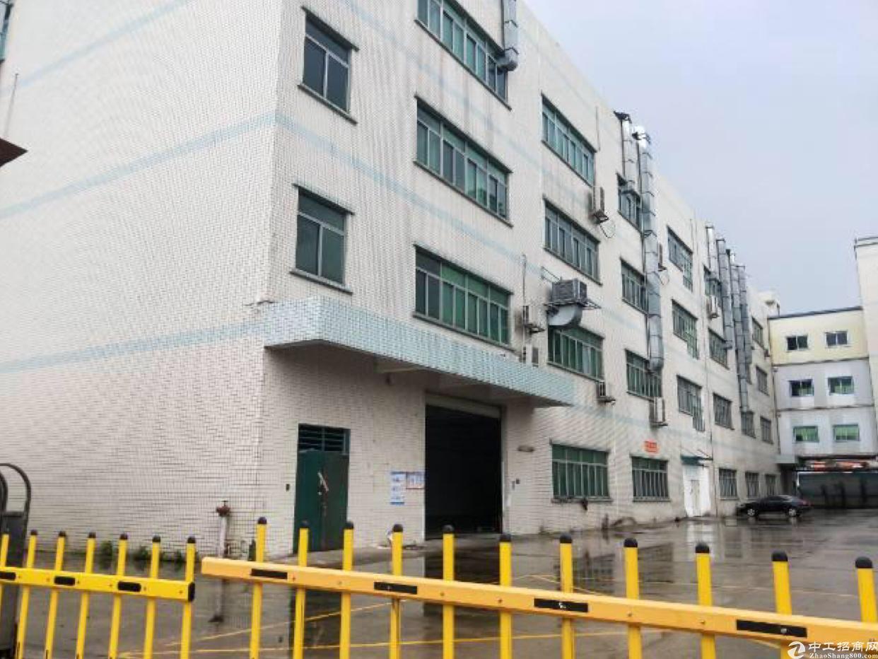 东莞占地面积3600平,建筑面积5500平,独院村委厂房