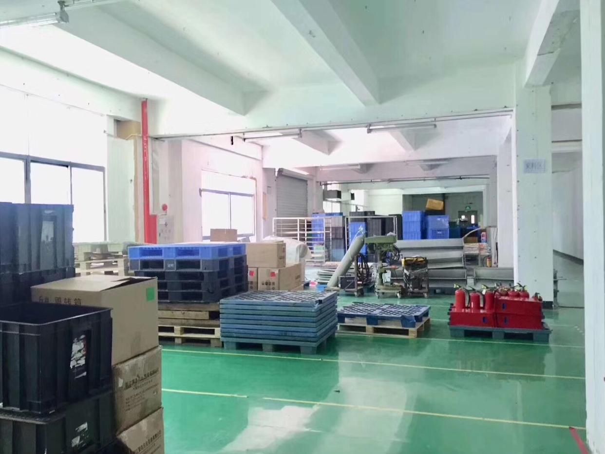 福永镇沿江高速出口楼上带装修实际面积1020平招租
