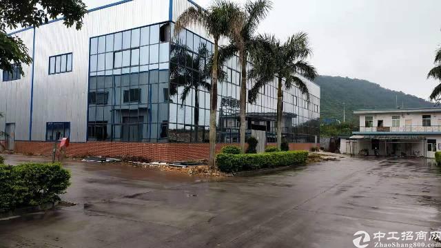 新圩约场原房东工业园区独栋两层标准厂房出租2100平方