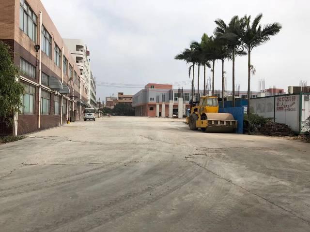 长安沙头新出一楼带牛角高度七米厂房可驾行车1960平
