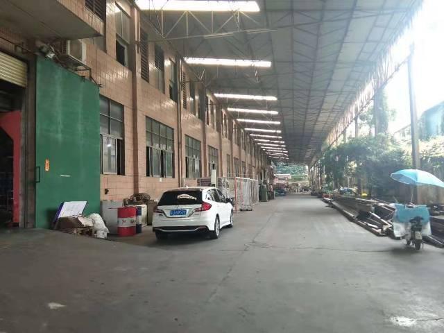 东莞市长安镇乌沙大润发附近新出一楼高8米厂房1000平招租