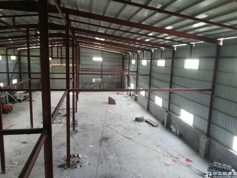 园区偏僻1300平方钢构厂房,14元每平方。