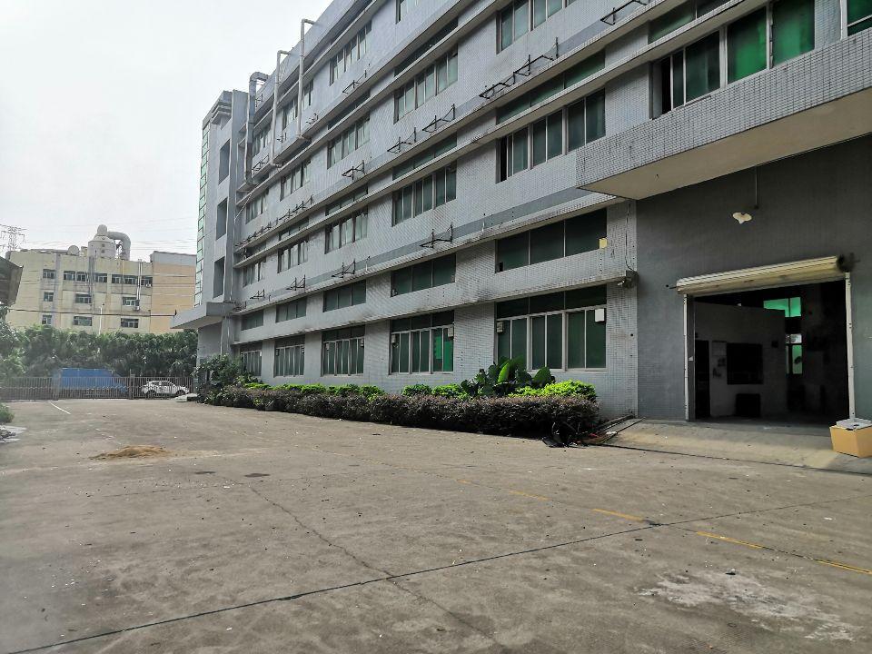沙井宝安大道旁独院厂房分租1楼2楼4000平米