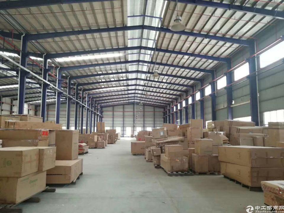 大朗原房东形象高大尚独院单一层钢结构厂房10000平方米!