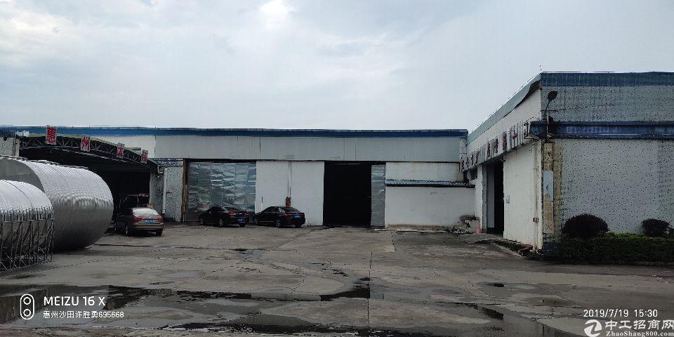 惠阳区单一层钢构厂房出租3000平方