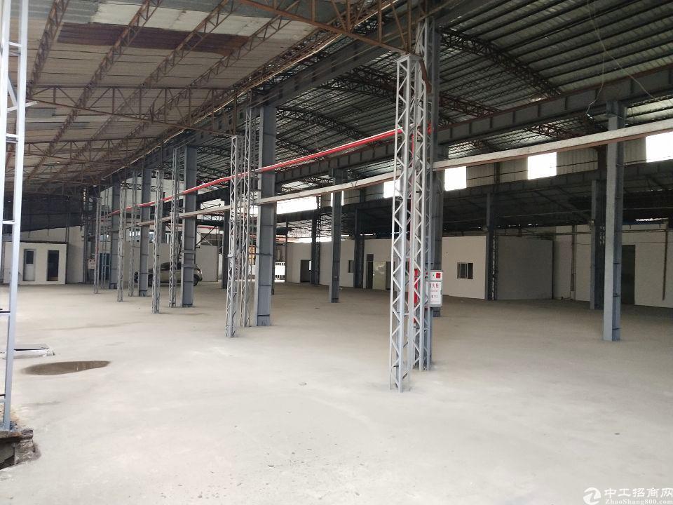 东莞市长安镇广深高速出口附近新出仓库钢构厂房1500平招租