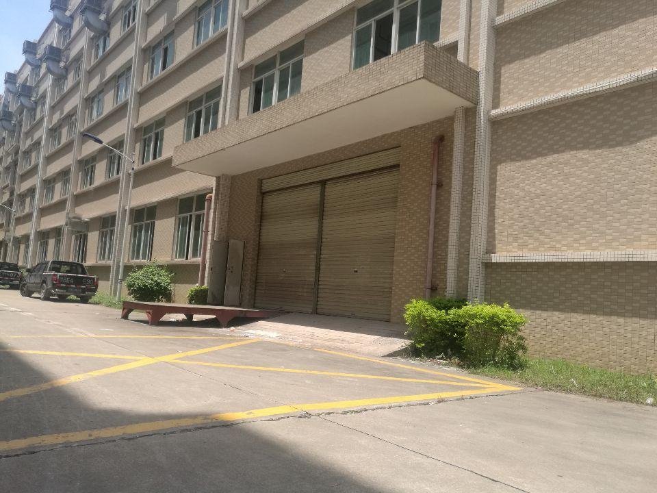 原房东仲恺高新区花园式厂房标准一楼3600平方米招租可分租