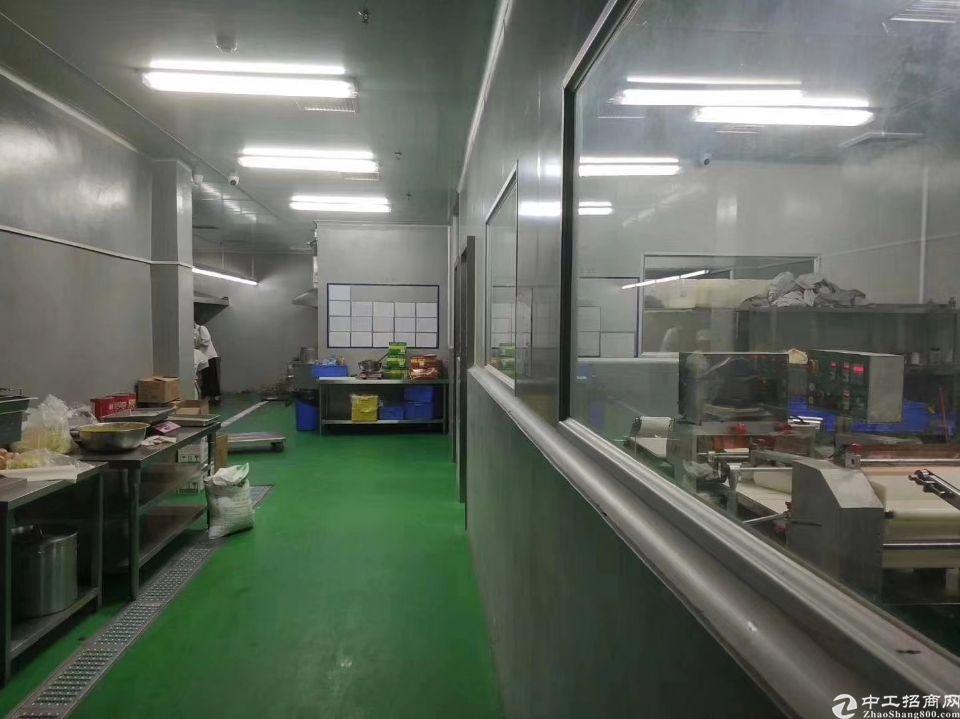横岗六约地铁口新出带冷冻食品仓库车间精装修实际面积出租