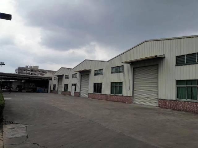 石碁独院厂房6000方,全新地坪漆,带牛角,中高11米,空地