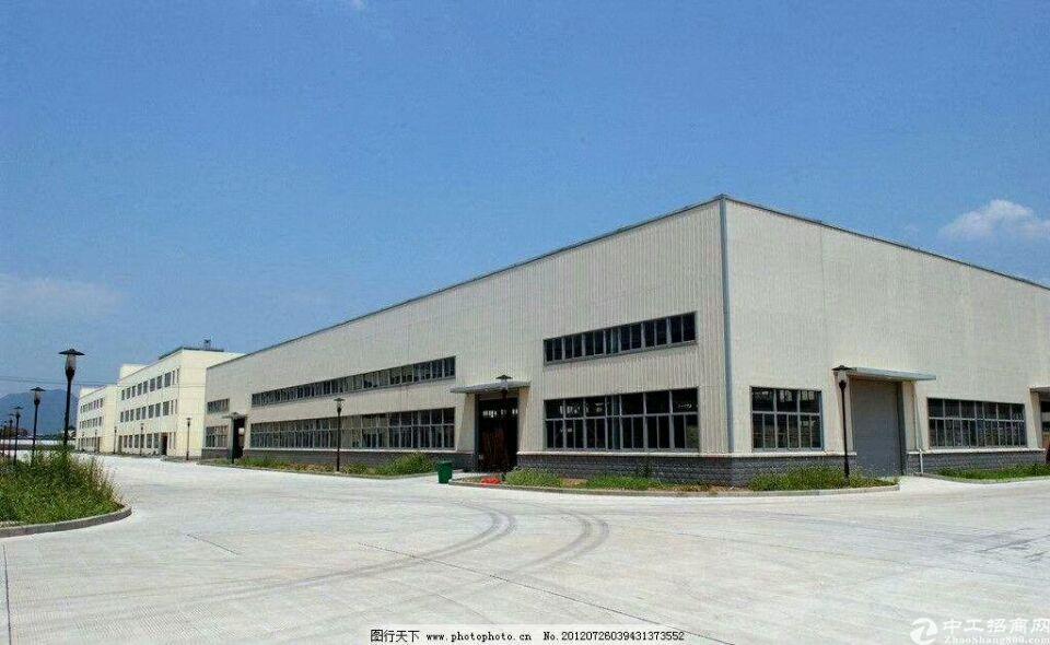 惠州市石湾镇独院钢构厂房出租,主干道边,证件齐全,可办环评。