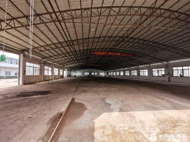 厚街镇厚街村独院单一层钢构厂房仓库招租可分租