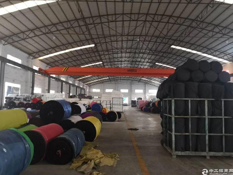 虎门镇怀德原房东钢构厂房5600平实际面积出租