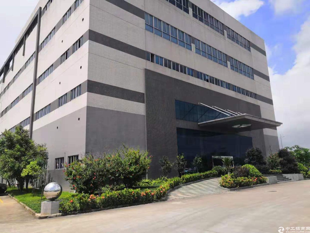 博罗园洲新出原房东全新标准厂房4层3800平