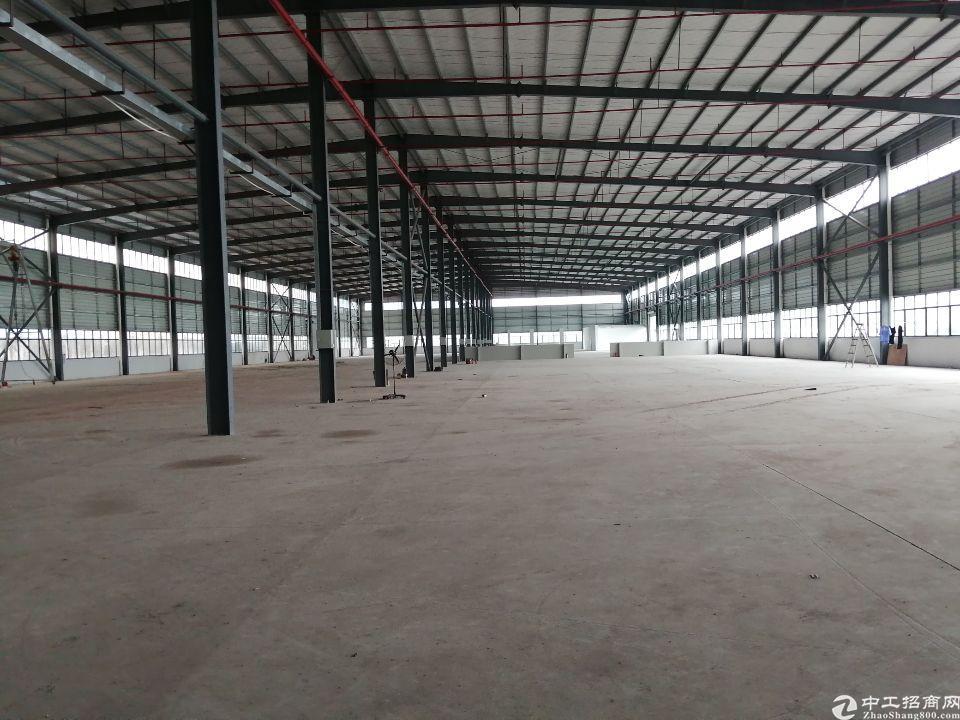 广深高速出口附近新出独栋单一层重工业钢结构7708平方招租